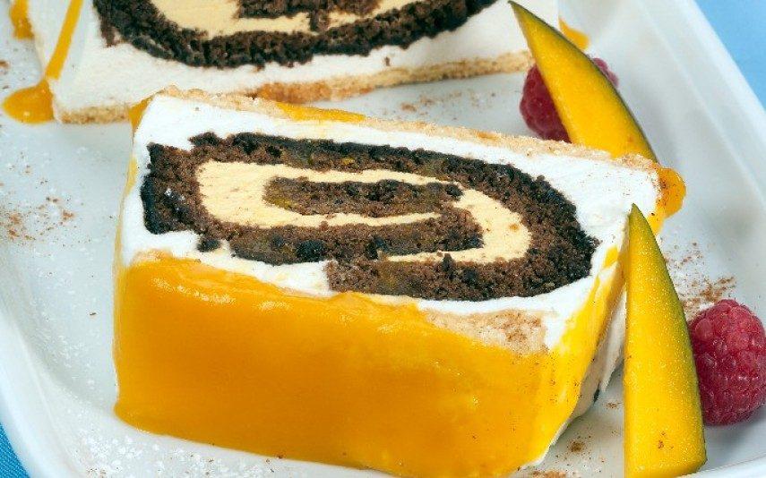 Torta escondida Sobremesa fresca