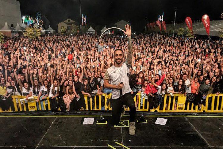 Diogo Piçarra premiado com o «Best Portuguese Act» dos MTV EMA 2018