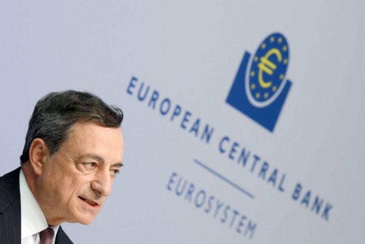 BCE mantém previsão de crescimento na zona euro este ano e revê 2017 em ligeira alta