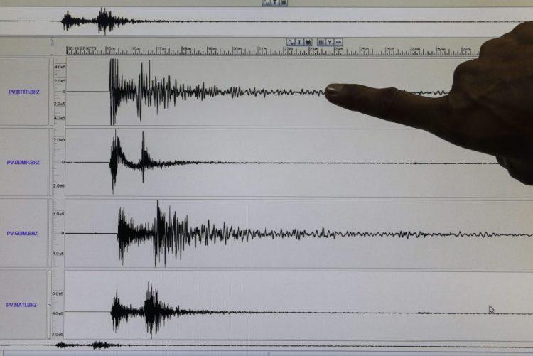 Emitido ALERTA DE TSUNAMI após sismo de magnitude 8