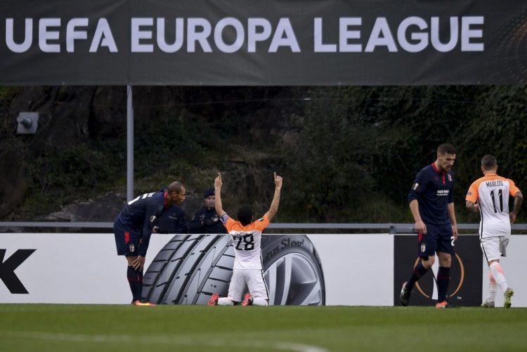 Braga perde com Shakhtar e fica fora dos 16 avos de final da Liga Europa