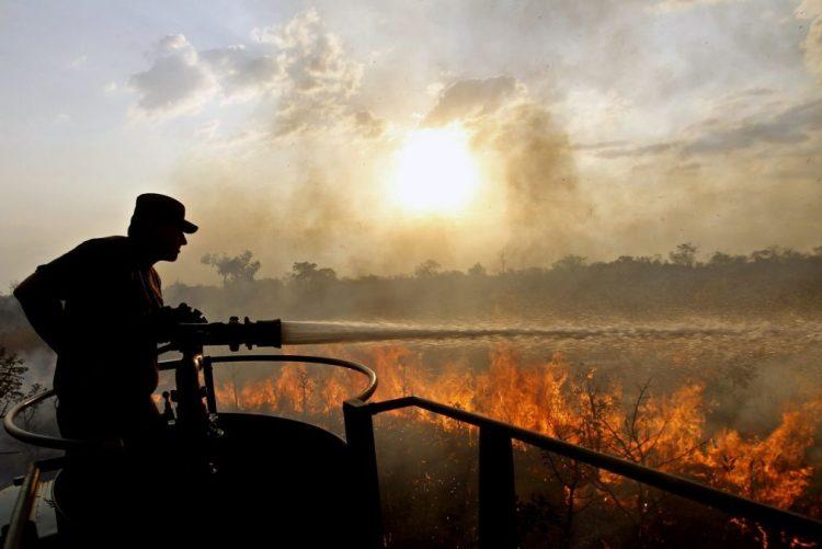 ALERTA | Dominado incêndio em Samora Correia