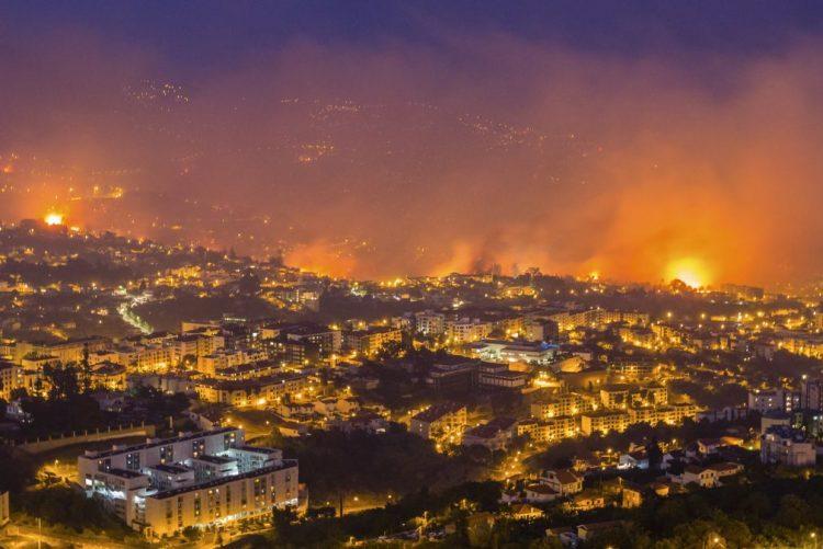 Incêndios: Bruxelas propõe ajuda de 4 ME à Madeira