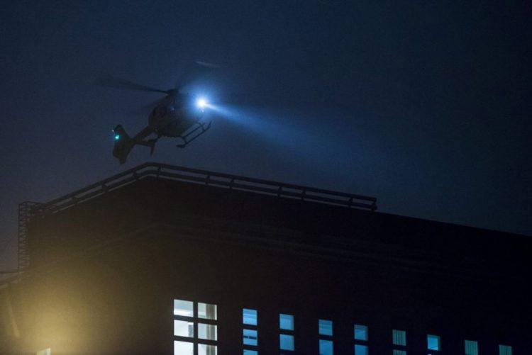 Helicóptero de emergência italiano despenha-se com seis pessoas a bordo
