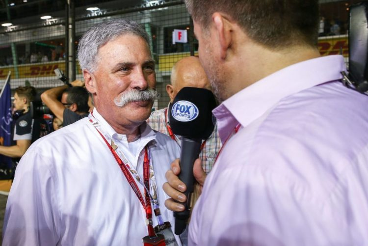 Presidente da F1 quer mais uma corrida nos Estados Unidos e vai manter Silverstone