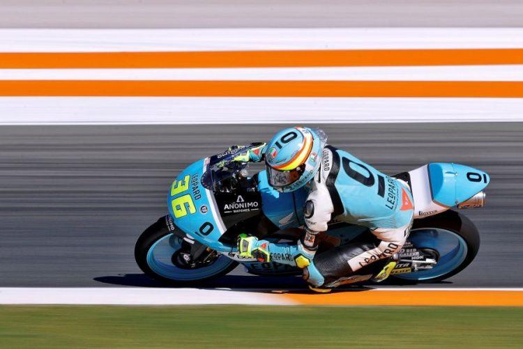Campeão mundial Joan Mir falha recorde de Valentino Rossi no Moto3