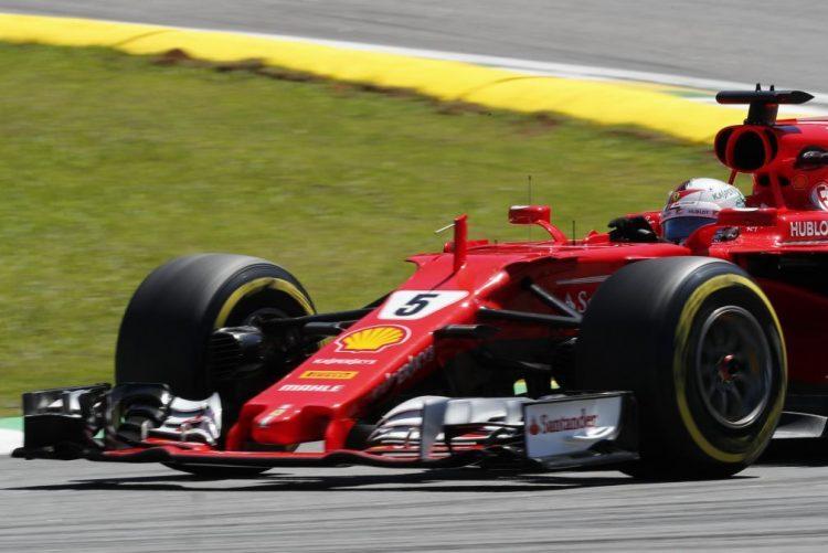 Sebastian Vettel (Ferrari) vence Grande Prémio do Brasil de Fórmula 1