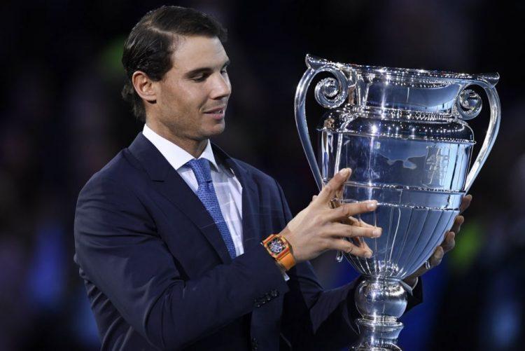 Nadal diz que troféu de número 1 mundial