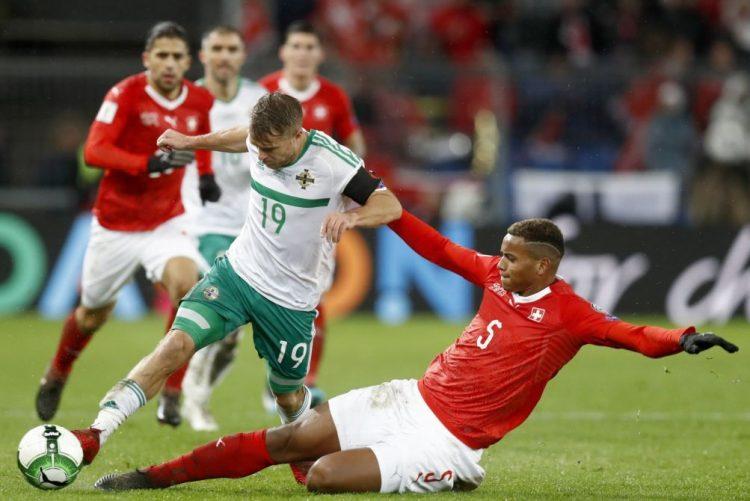Suíça supera Irlanda do Norte e qualifica-se pela 11.ª vez para um mundial