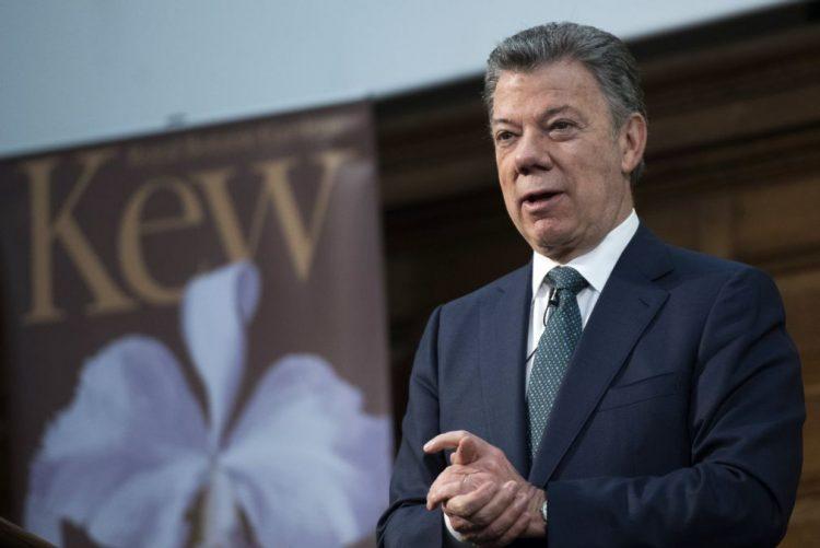 Presidente da Colômbia realiza hoje uma visita de Estado a Portugal