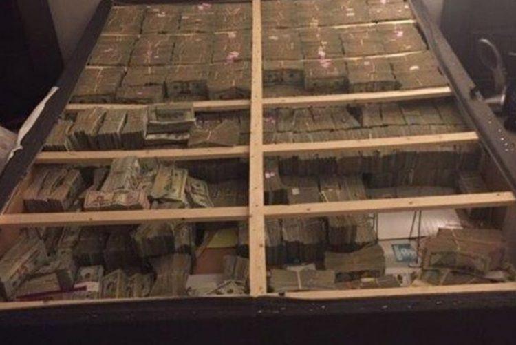 Brasileiro escondia 20 milhões de dólares debaixo do colchão