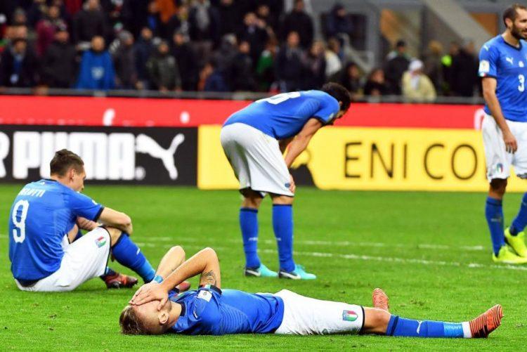 Itália de fora do Mundial pela primeira vez desde 1958, Suécia qualificada