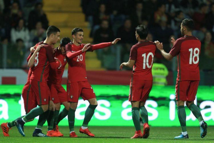 Sub-21 portugueses vencem Suíça e aproximam-se dos primeiros lugares do grupo 8