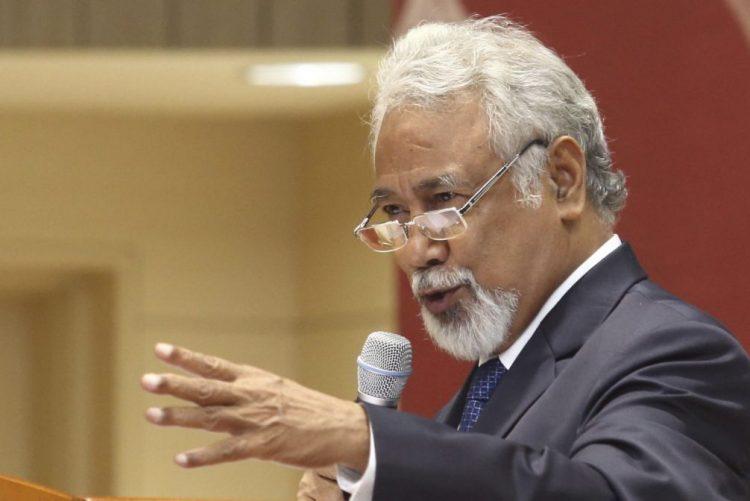 Xanana Gusmão defende ex-ministra timorense condenada e critica justiça