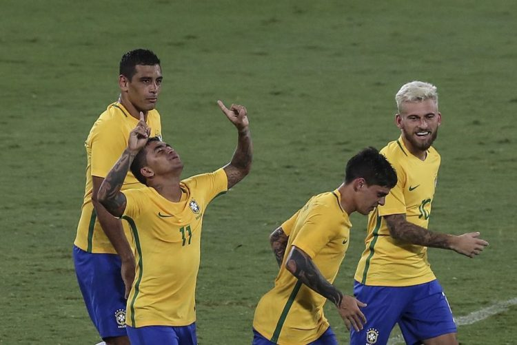 Brasil vence Colômbia por 1-0 em jogo de solidariedade para com Chapecoense