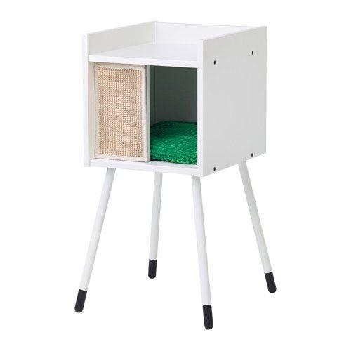 Casa com pernas para gatos com almofada - 55,98€ no Ikea