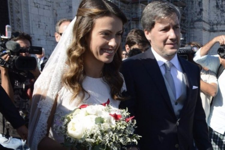 Quatro meses depois do casamento, Joana Ornelas, grávida, sai de casa de Bruno de Carvalho