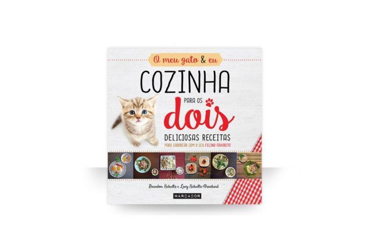 Livro de receitas «O Meu Gato e Eu - Cozinha Para os Dois» - 17,50€