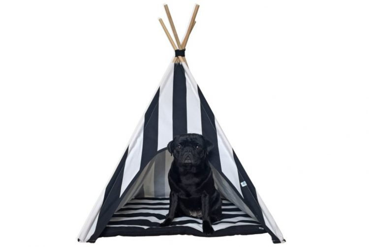 Tenda Indie Stripes Dog Teepee - 79,90€ na Niu Niu Pets