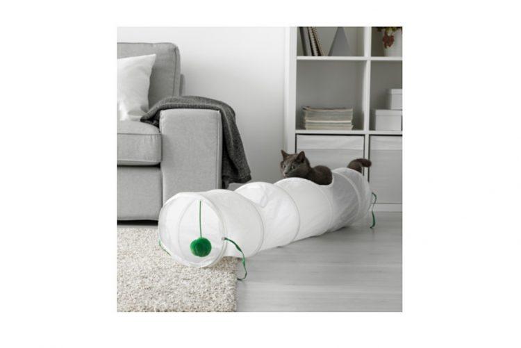 Túnel para gatos - 5,99€ no Ikea