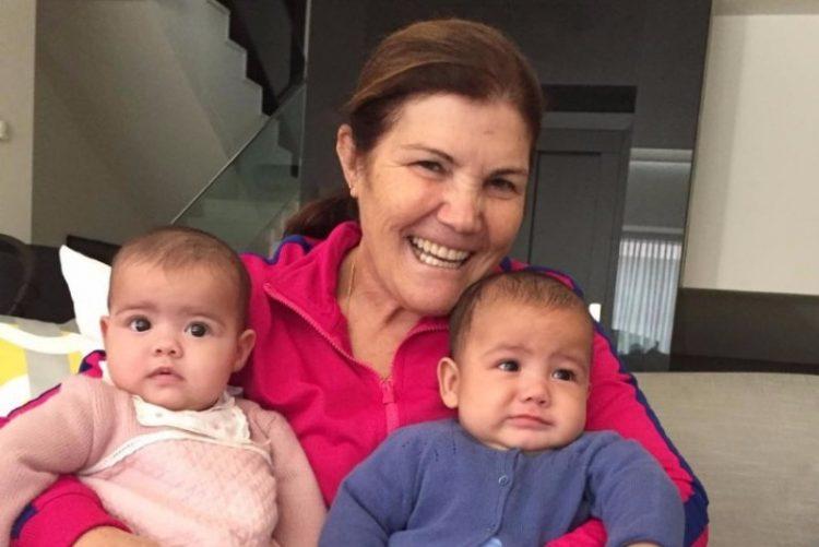 Dolores Aveiro mostra como os gémeos cresceram ! A mudança é adorável