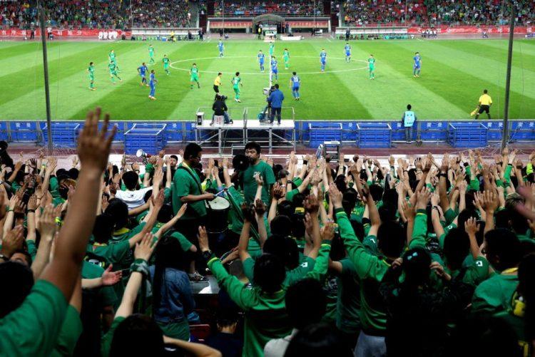 Clube chinês Beijing Guoan avaliado em 754 ME, quase três vezes mais do que Benfica