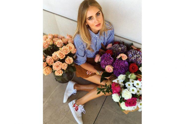 A 'it girl' Chiara Ferragni é fã da marca e tem vários modelos de Josefinas