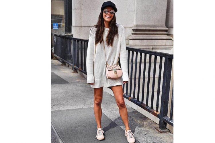 A manequim portuguesa Sara Sampaio tem vários sapatos da marca