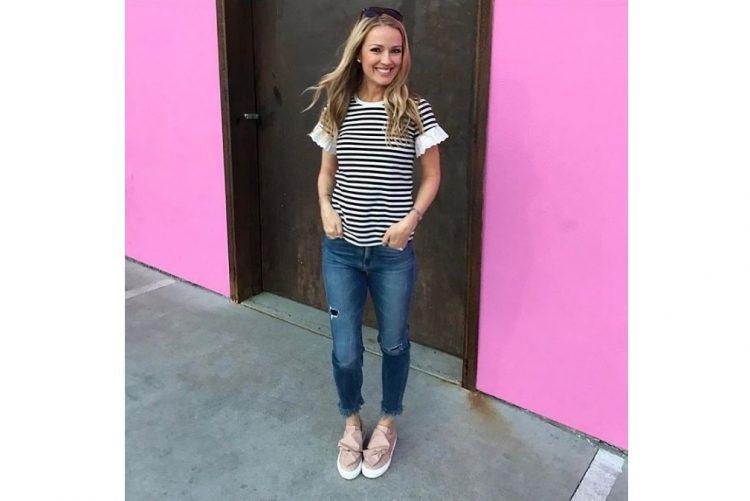 Brooke Anderson, correspondente do programa «Entertainment Tonight»