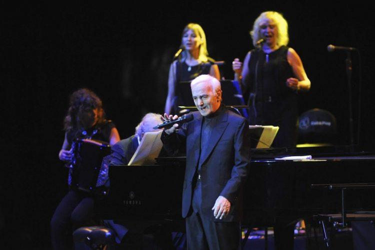 Charles Aznavour atua hoje em Lisboa