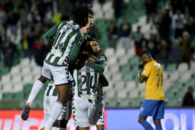 Vitória de Setúbal bate Estoril-Praia na abertura da 13.ª jornada da I Liga