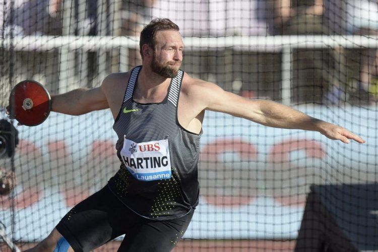 Robert Harting, campeão olímpico do disco em 2012, retira-se em 2018
