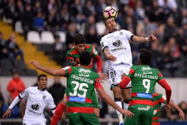 Vitória de Guimarães empata com Marítimo e falha subida ao terceiro lugar