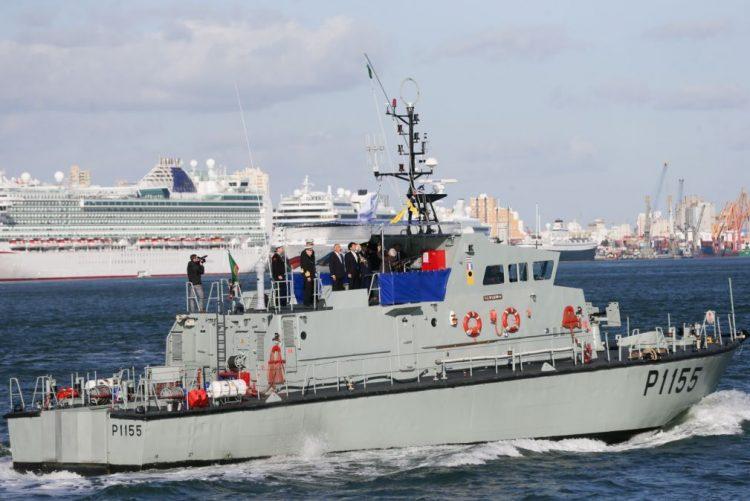 Marinha espera que programa de substituição de navios continue