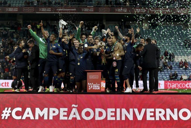 Moreirense bate Sporting de Braga e conquista a sua primeira Taça da Liga