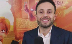 João Paulo Rodrigues encantado com carta da filha