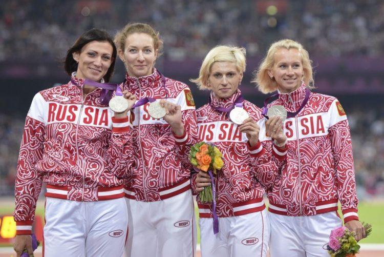Estafeta feminina russa 4x100 metros perde prata de JO Londres2012 por doping