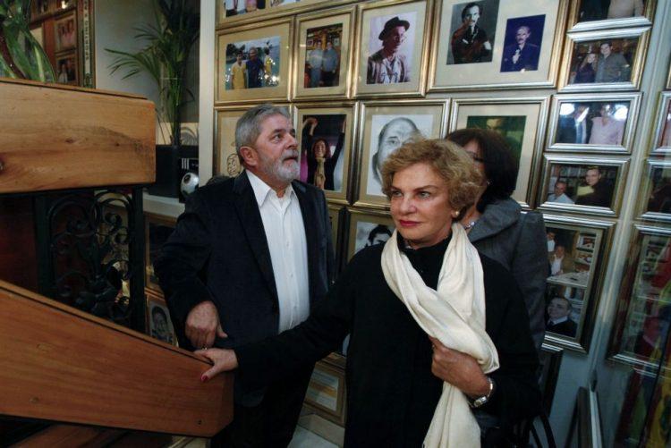 Quadro clínico da mulher de Lula da Silva