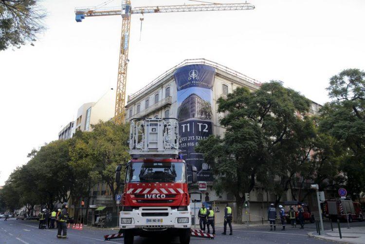 Sindicato responsabiliza construtora e ACT na derrocada em prédio de Lisboa