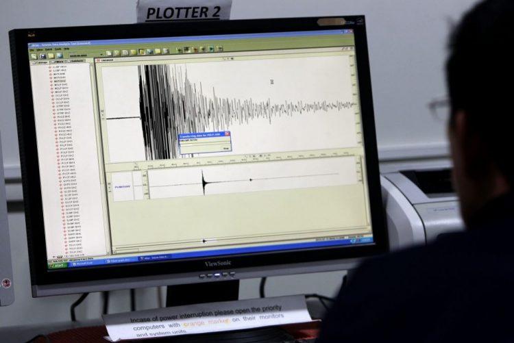 Sismo de magnitude 6.1 na escala de Richter registado este domingo