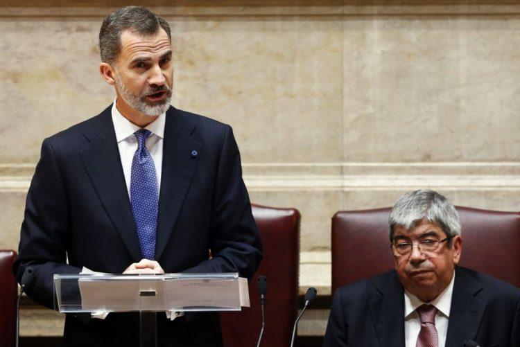 Rei de Espanha afirma apoio solidário na União Europeia nos