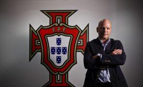 Selecionador Jorge Braz renova até 2020 após conquista de título europeu de futsal