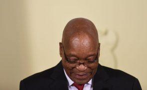 Presidente da África do Sul Jacob Zuma anuncia «demissão imediata»