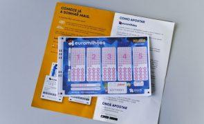 Jackpot de 160 milhões de euros no próximo sorteio do Euromilhões