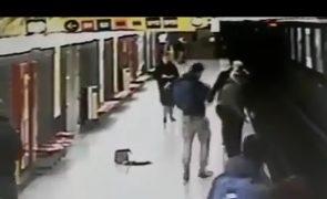 Jovem salva criança de 2 anos de ser atropelada por comboio