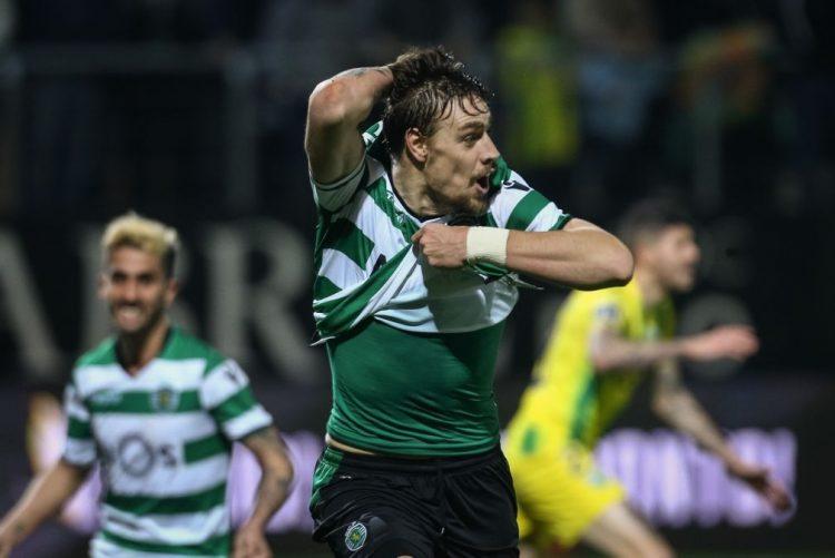 Golo de Coates nos descontos dá vitória ao Sporting em Tondela