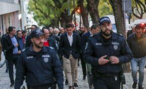 Polícias e militares exigem resposta do Governo sobre carreiras até ao fim do mês
