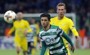 Piccini e Montero falham receção do Sporting ao Astana para a Liga Europa