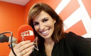 Joana Cruz goza com o dom de Maria Helena em direto da SIC