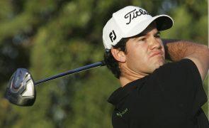Golfista Ricardo Melo Gouveia caiu para o 58.º lugar no Masters do Qatar